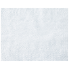 13 in x 17 in White Lightweight Paper Traymats 1000 ct.