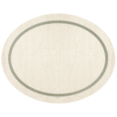 19 in x 24 in Regal Print Oval Paper Traymats 500 ct.
