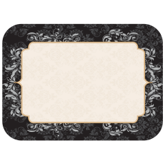 14 in x 19 in Traditional Printed Paper Traymats 1000 ct.