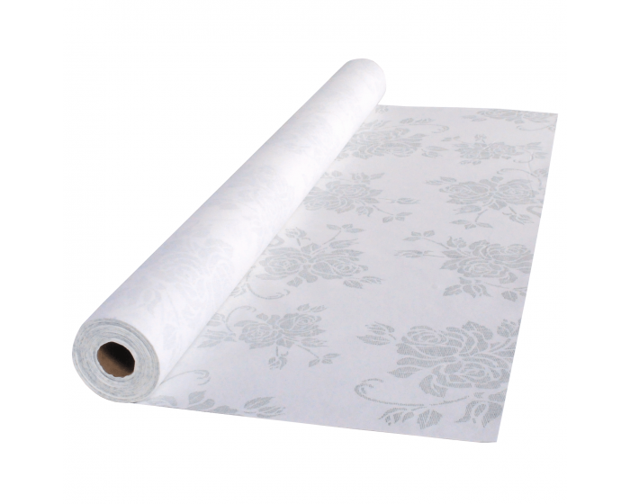40 In X 100 Ft Printed Linen Like Airlaid Table Rolls 1 Ct