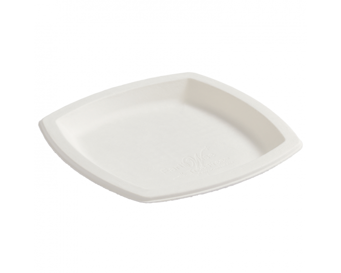 Square Earth Wise Tree Free Plates