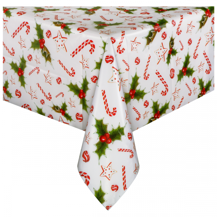 Buy Printed Plastic Folded Tablecovers Hoffmaster