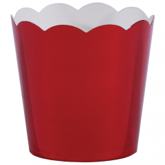 Red Metallic Cup