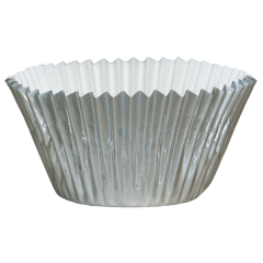 2.5 in Silver Foil Baking Cups 1500 ct.
