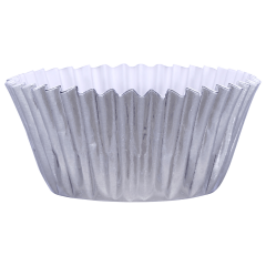3 in Silver Foil Baking Cups 1500 ct.