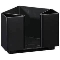 5 in x 6.25 in x 4.25 in Black Napkins Bar Caddy 1 ct.