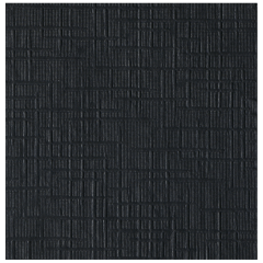 5 in Linen Embossed Black Beverage Napkins 1000 ct.