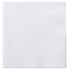 5 in Unembossed White Beverage Napkins 1000 ct.