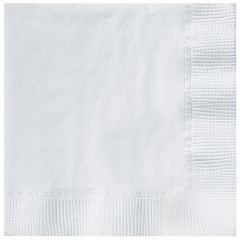 5 in Earth Wise White Beverage Napkins