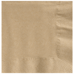 5 in Earth Wise Kraft Beverage Napkins 3000 ct.