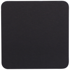 4 in Square Black Coasters 500 ct.
