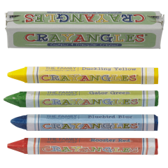 3.5 in Classy Kid Triangular Crayons 1440 ct.