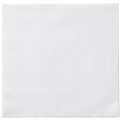 8.5 in x 8.5 in White Linen-Like Dinner Napkins 300 ct.
