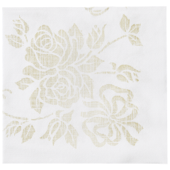 8.5 in Printed Linen-Like Dinner Napkins 300 ct.
