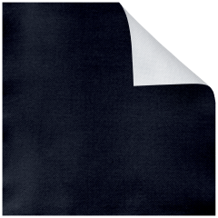 15.5 in x 15.5 in FashnPoint Reversible Black and White Dinner Napkins Flat Pack 750 ct.