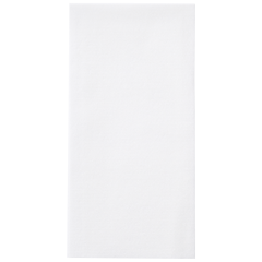 8.5 in x 4.25 in Linen-Like White Guest Towels 500 ct.