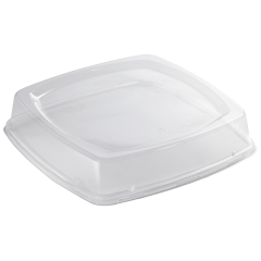 9.75 in EarthWise Clear Plate Lids 250 ct.