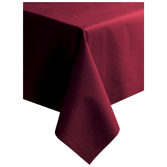 50 in x 108 in Linen-Like Burgundy Tablecloths 20 ct.