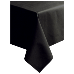 50 in x 108 in Linen-Like Black Airlaid Tablecovers 20 ct.