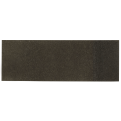 1.5 in x 4.25 in Black Adhesive Napkin Bands