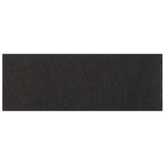 1.5 in x 4.25 in Black Adhesive Napkin Bands 5000 ct.