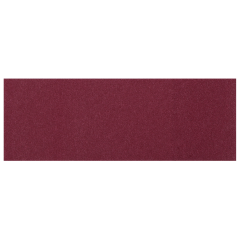 1.5 in x 4.25 in Burgundy Adhesive Napkin Bands 5000 ct.
