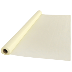 40 in x 100 ft Ivory Plastic Table Roll 1 ct.