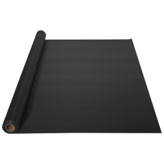 40 in x 100 ft Black Plastic Table Roll 1 ct.
