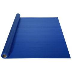 40 in x 100 ft Blue Plastic Table Roll 1 ct.