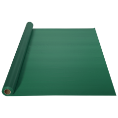 40 in x 100 ft Hunter Green Plastic Table Roll 1 ct.
