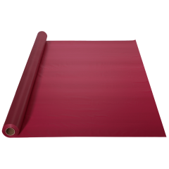 40 in x 100 ft Burgundy Plastic Table Roll 1 ct.