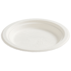 6 in EarthWise White Dessert Plates 1000 ct.