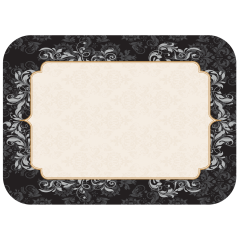 13 in x 17 in Traditional Printed Paper Traymats 1000 ct.