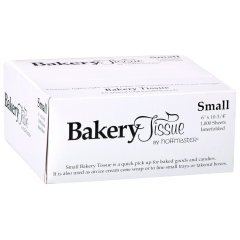 6 in Small Bakery Tissue 10000 ct.