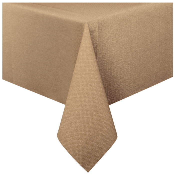 225 & 50 in x 108 in Linen-Like Airlaid Kraft Paper Tablecloths 24 ct.