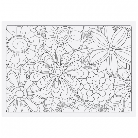Purchase Adult Coloring Combo Placemats / Hoffmaster