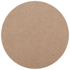 "Kraft Budgetboard Coasters, 4"" Round"