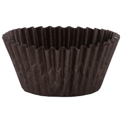 Brown Fluted Bake Cups