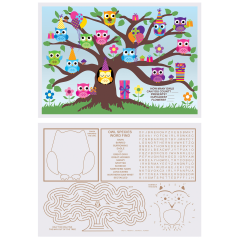 Kids' Activity Placemats