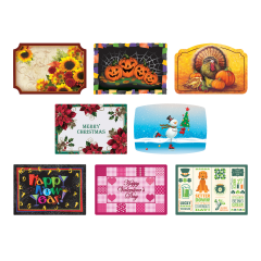 Fall & Winter Seasonal Variety Pack Placemats