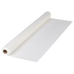 White Plastic Tablecover Rolls