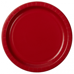 Solid Color Round Paper Plates  sc 1 st  Hoffmaster & Order Plates u0026 Bowls including custom Plates / Hoffmaster