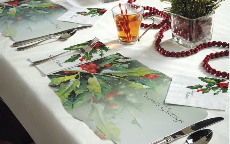 Spruce up for the Holidays with these Creative Restaurant Ideas