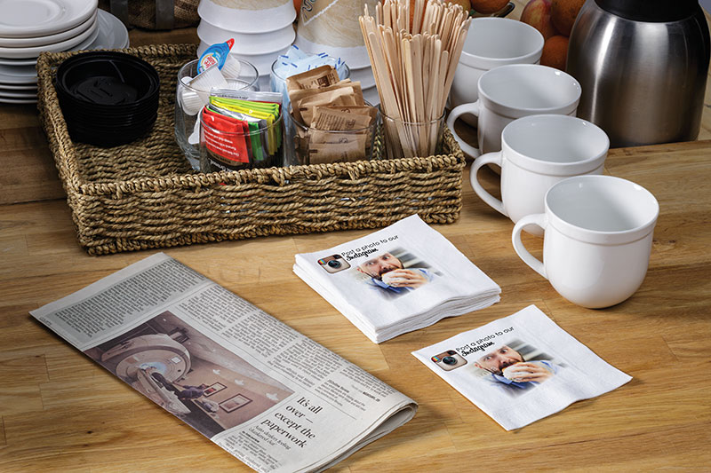 How to Use Digitally Printed Napkins to Boost Your Promotions