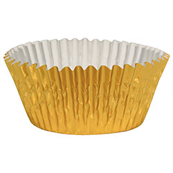 Gold Fluted Bake Cup