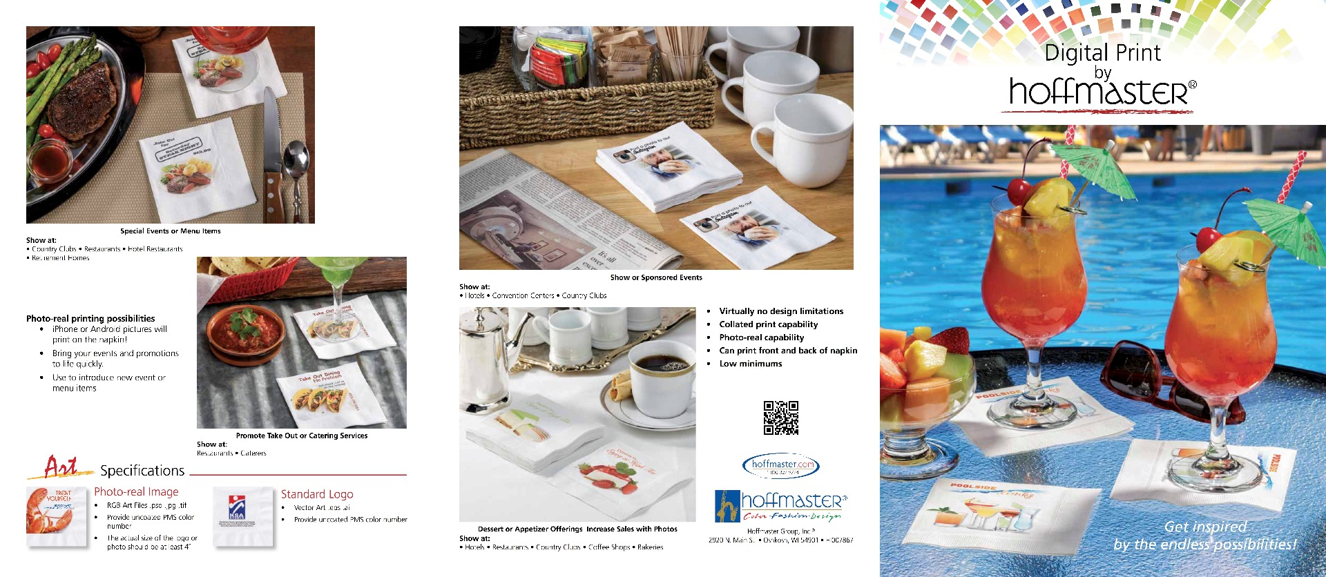 Marketing materials for Digital marketing materials